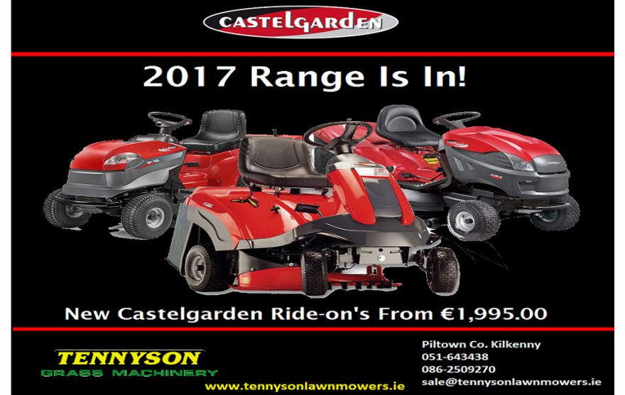 Castelgarden range