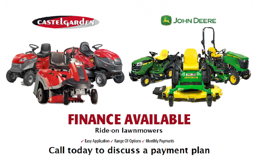 Lawnmower Finance