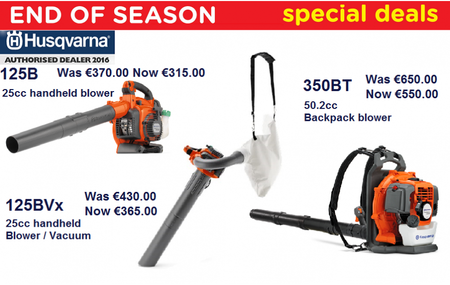 Husqvarna Blower Offer